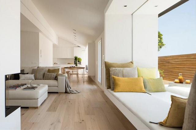 zania design chalet a gava de madera y corian con espectacular arquitectura